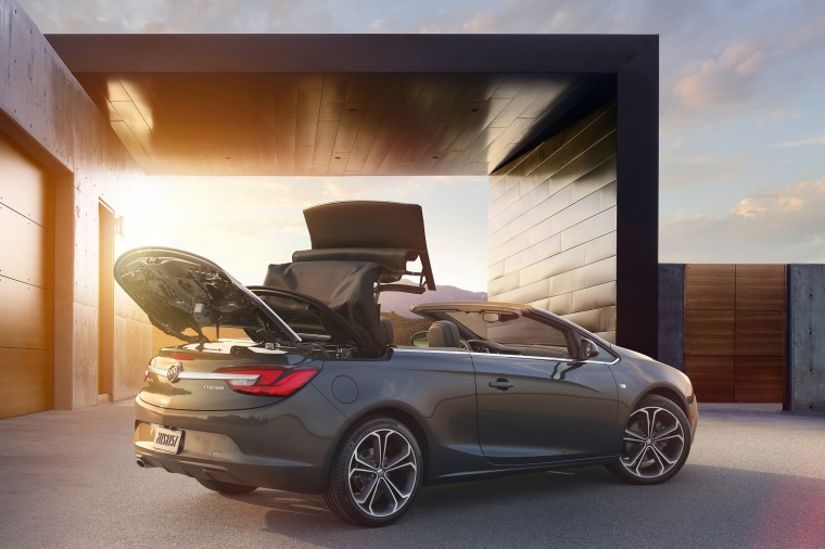 2018 Buick Cascada Convertible from a rear right three-quarter view