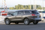 2010 Buick Enclave CXL in Cocoa Metallic - Static Rear Three-quarter View