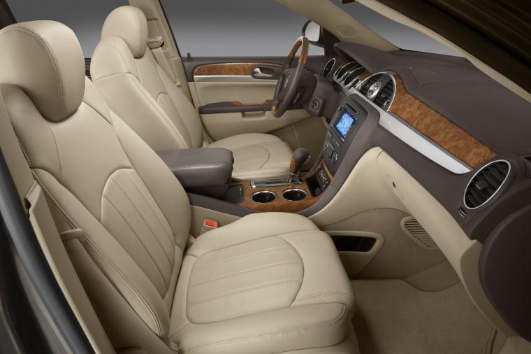 2011 buick enclave cxl front seats in cashmere color picture image. Black Bedroom Furniture Sets. Home Design Ideas