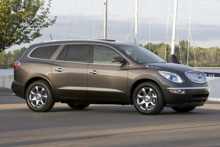 2011 buick enclave cxl in cocoa metallic color static. Black Bedroom Furniture Sets. Home Design Ideas