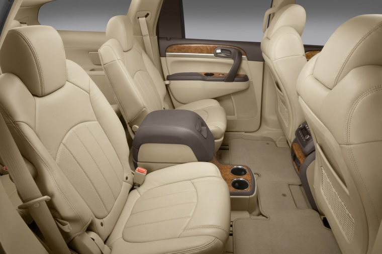 2012 Buick Enclave Cxl Rear Seats In Cashmere Color