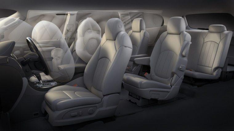 2016 Buick Enclave Airbags