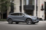 2018 Buick Enclave in Satin Steel Metallic - Driving Front Right Three-quarter View