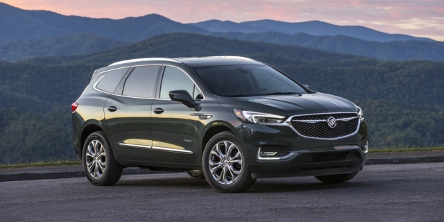 2018 Buick Enclave Pictures