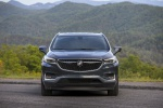 Picture of a 2019 Buick Enclave Avenir in Dark Slate Metallic from a frontal perspective