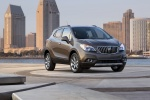 2014 Buick Encore in Cocoa Silver Metallic - Static Front Right Three-quarter View