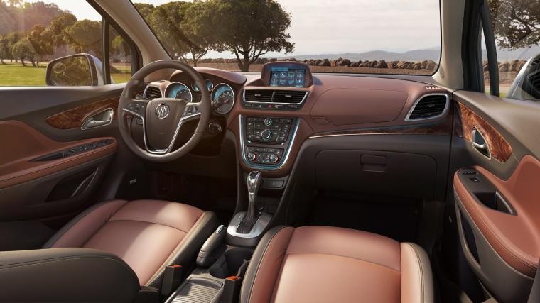 2016 Buick Encore Cockpit Picture