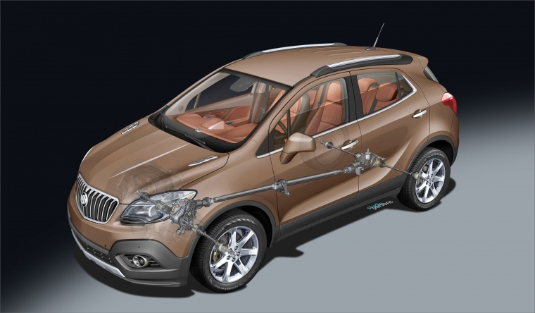 2016 Buick Encore Technology Picture