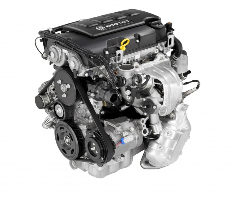 2016 Buick Encore 1.4-liter 4-cylinder turbocharged Engine Picture