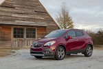 2016 Buick Encore in Winterberry Red Metallic - Static Front Left Three-quarter View