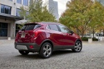 2016 Buick Encore in Winterberry Red Metallic - Static Rear Right Three-quarter View