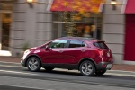 2016 Buick Encore in Winterberry Red Metallic - Driving Side View