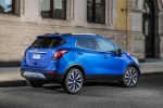 2018 Buick Encore in Coastal Blue Metallic - Static Rear Right Three-quarter View