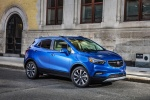 2018 Buick Encore in Coastal Blue Metallic - Static Front Right Three-quarter View