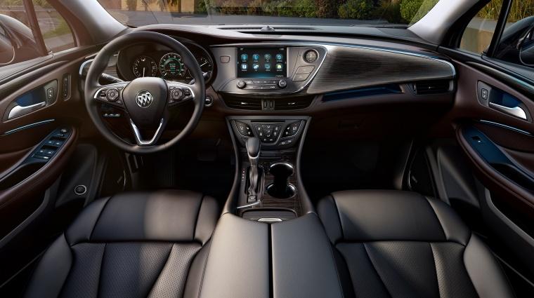 2017 Buick Envision Cockpit Picture