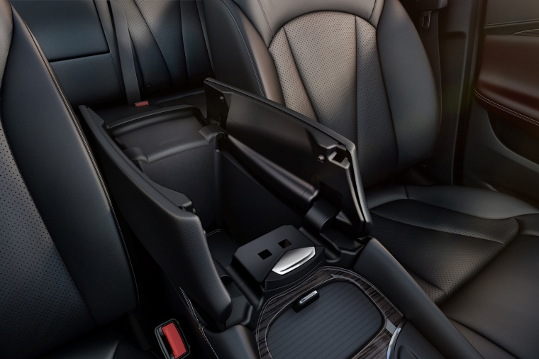 2017 Buick Envision Center Armrest Storage Picture