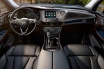 Picture of a 2017 Buick Envision's Cockpit in Ebony