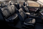 Picture of a 2017 Buick Envision's Interior in Ebony