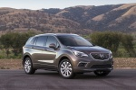Picture of a 2017 Buick Envision AWD in Bronze Alloy Metallic from a front right perspective