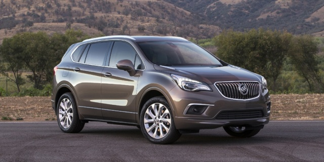 2017 Buick Envision Pictures