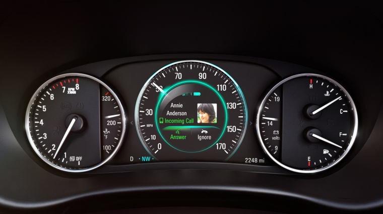 2018 Buick Envision Gauges Picture