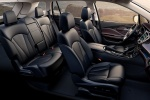 Picture of a 2018 Buick Envision's Interior in Ebony