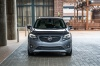 Picture of a 2019 Buick Envision AWD in Satin Steel Metallic from a frontal perspective