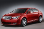 2010 Buick LaCrosse CXS in Red Jewel Tintcoat - Static Front Left Three-quarter View