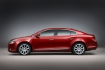 2010 Buick LaCrosse CXS in Red Jewel Tintcoat - Static Side View
