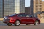 2011 Buick LaCrosse CXS in Red Jewel Tintcoat - Static Rear Right Three-quarter View