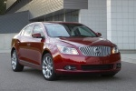 2011 Buick LaCrosse CXS in Red Jewel Tintcoat - Static Front Right View