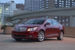 2011 Buick LaCrosse CXS in Red Jewel Tintcoat - Static Front Left View