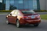 2011 Buick LaCrosse CXS in Red Jewel Tintcoat - Static Rear Left View