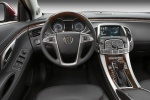 2011 Buick LaCrosse CXS Cockpit in Ebony