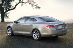 2011 Buick LaCrosse CXL in Quicksilver Metallic - Static Rear Left Three-quarter View