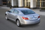 2011 Buick LaCrosse CXL in Quicksilver Metallic - Static Rear Left View