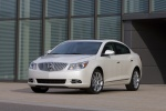 2011 Buick LaCrosse CXL in Summit White - Static Front Left Three-quarter View