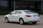 2011 Buick LaCrosse CXL in Summit White - Static Rear Left Three-quarter View