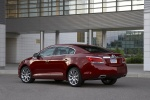 2011 Buick LaCrosse CXS in Red Jewel Tintcoat - Static Rear Left Three-quarter View