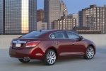 2011 Buick LaCrosse CXS in Red Jewel Tintcoat - Static Rear Right View