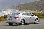 2012 Buick LaCrosse eAssist in Quicksilver Metallic - Static Rear Right Three-quarter View