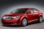 2012 Buick LaCrosse in Crystal Red Tintcoat - Static Front Left Three-quarter View