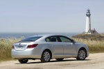 2012 Buick LaCrosse eAssist in Quicksilver Metallic - Static Rear Right View