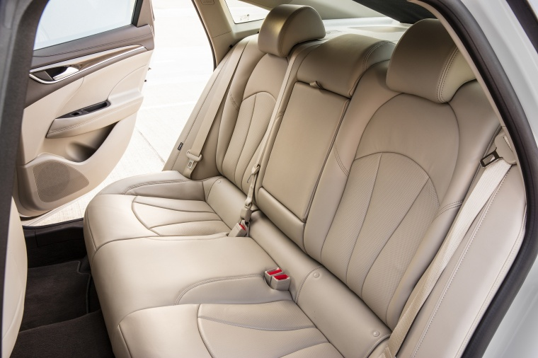 2017 Buick LaCrosse Rear Seats Picture