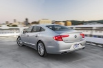 2017 Buick LaCrosse in Quicksilver Metallic - Driving Rear Left Three-quarter View