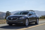 2017 Buick LaCrosse in Graphite Gray Metallic - Driving Front Left Three-quarter View