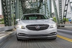 2017 Buick LaCrosse in Quicksilver Metallic - Driving Frontal View