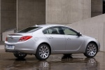 2012 Buick Regal in Quicksilver Metallic - Static Rear Right Three-quarter View