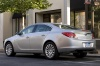 2013 Buick Regal in Quicksilver Metallic from a rear left three-quarter view