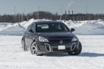 2014 Buick Regal GS AWD in Smoky Gray Metallic - Driving Front Right View